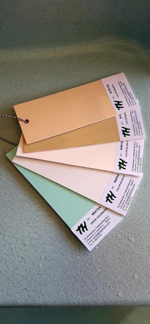 gama de colores beig verdoso