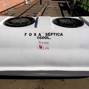 Fosa Séptica 1600 Litros